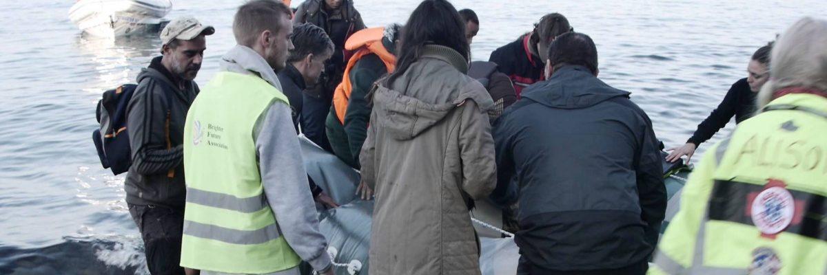 LESVOS ISLAND: Syrian refugee rescue
